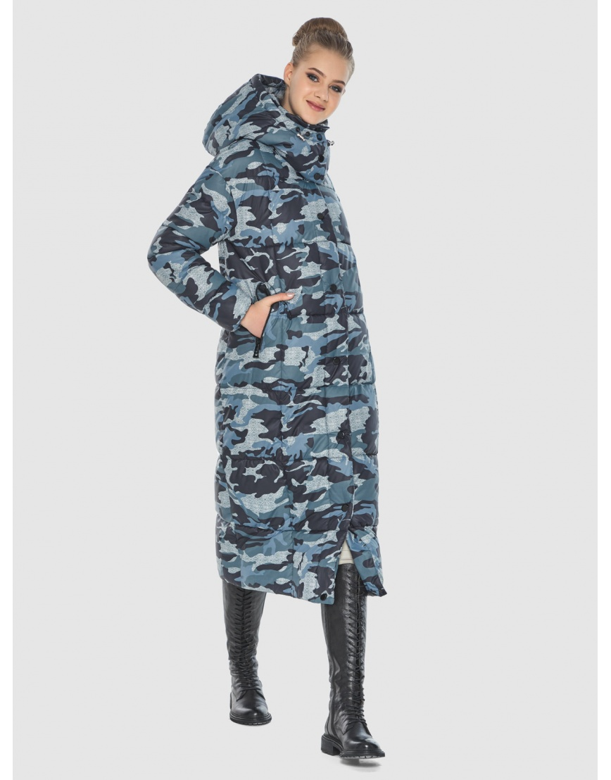 Брендовая куртка с рисунком женская Tiger Force TF-50247 фото 5