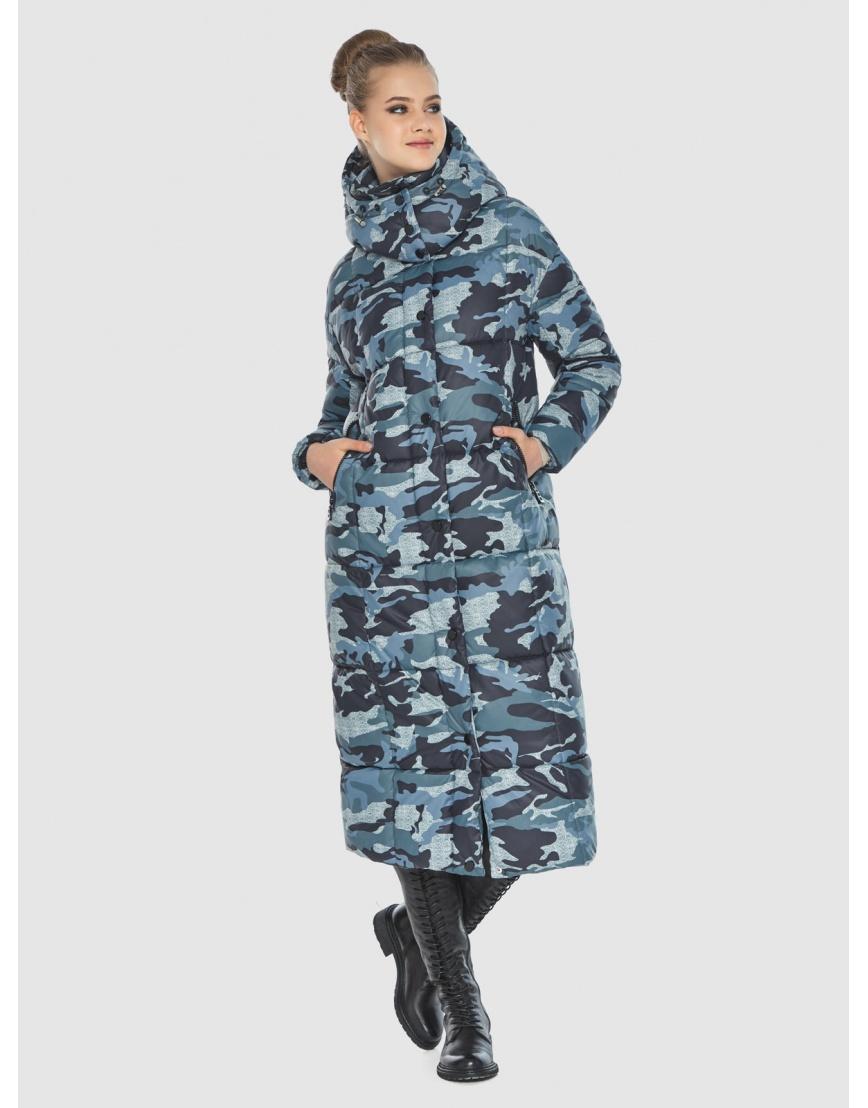 Брендовая куртка с рисунком женская Tiger Force TF-50247 фото 6