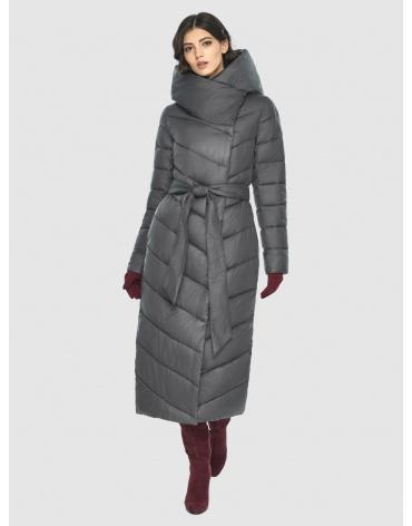 Женская серая фирменная куртка Vivacana 9405/21 фото 1