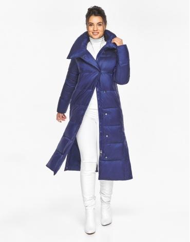 Модный воздуховик Braggart женский цвет синий бархат модель 41830 фото 1