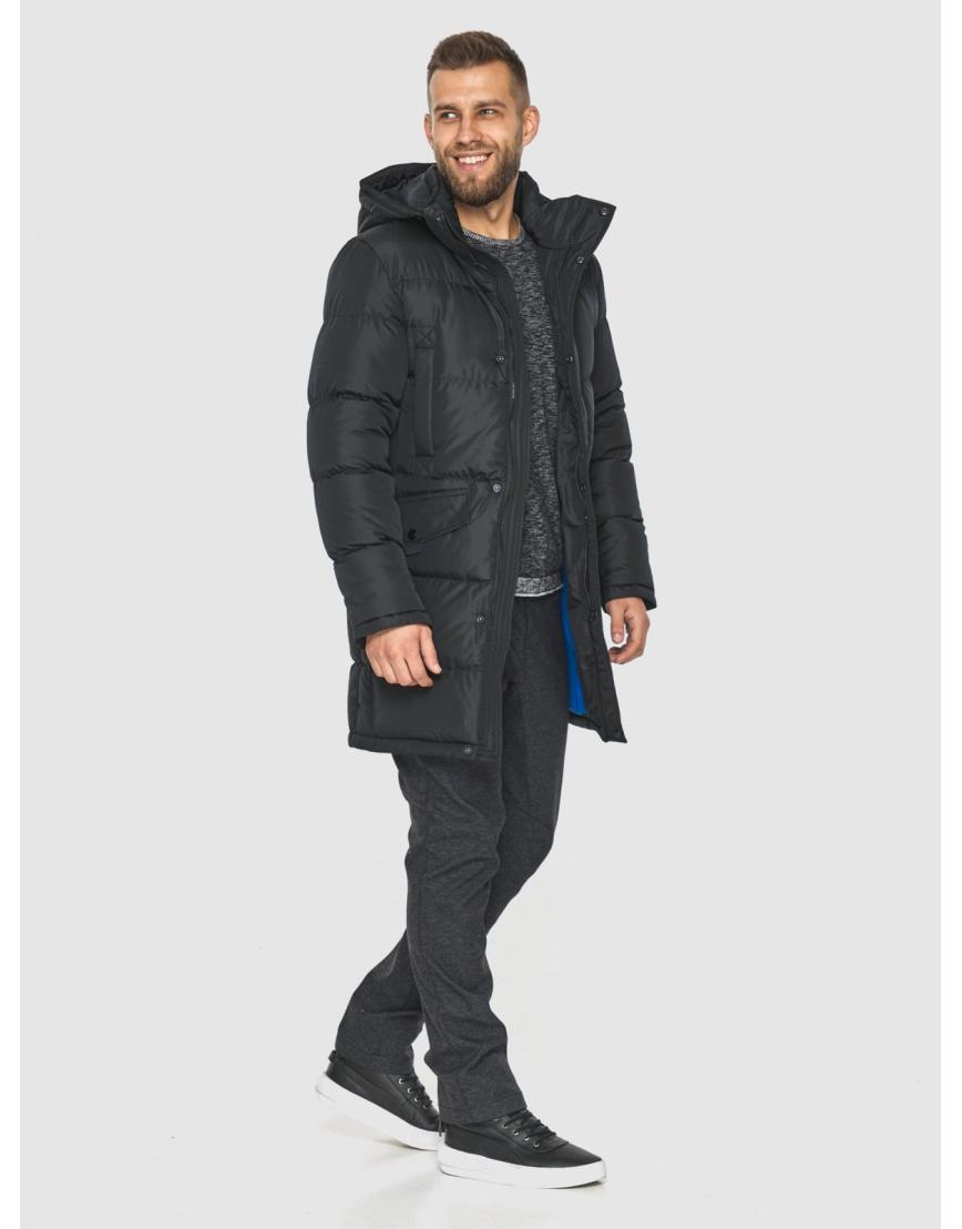Куртка на молнии чёрная мужская Tiger Force 2814 фото 3