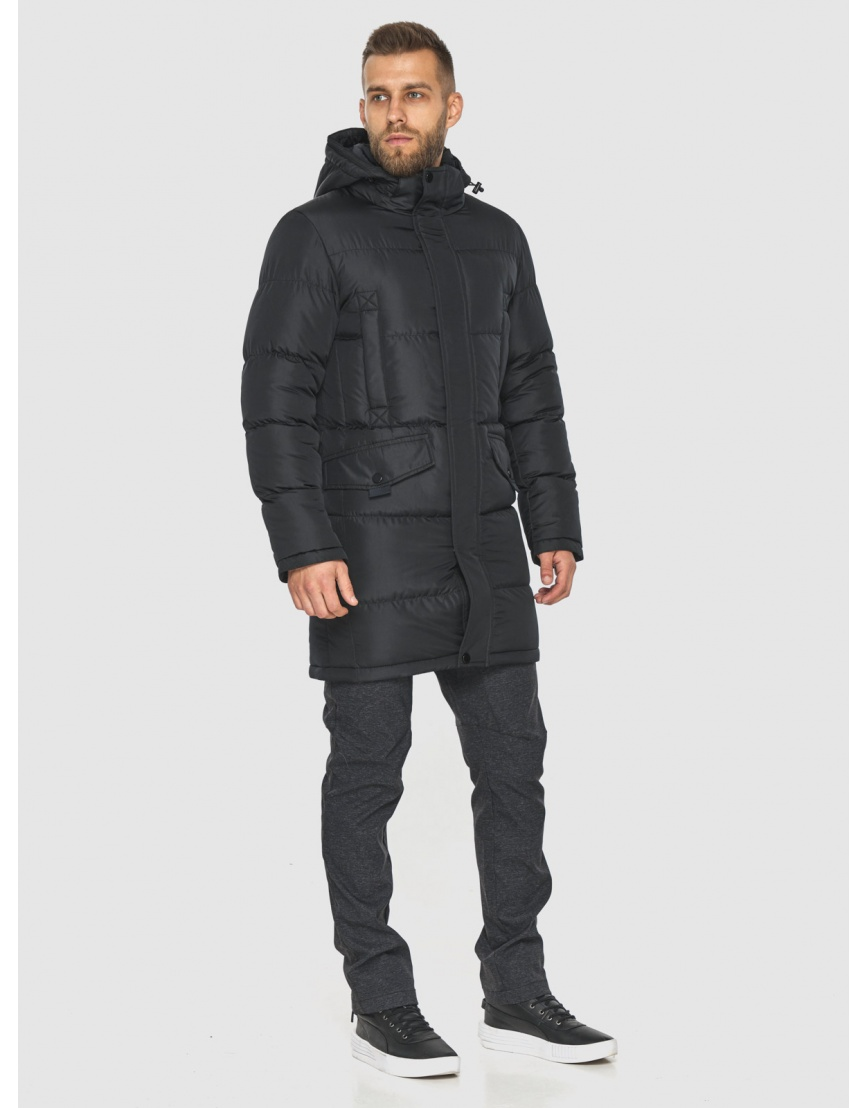 Куртка на молнии чёрная мужская Tiger Force 2814 фото 4