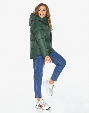Куртка пуховик Youth нефритовый молодежный удобный модель 23140 фото 1