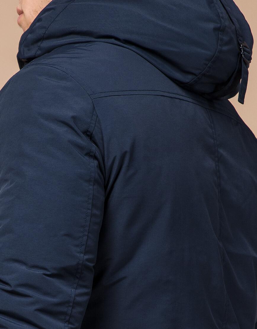 Мужская синяя парка зимняя модель 36640 оптом фото 6