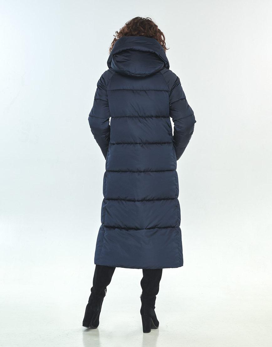 Куртка Moc синяя свободного фасона зимняя женская M6530 фото 3