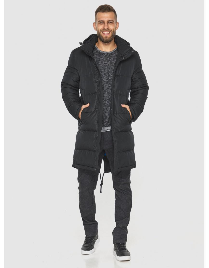 Чёрная куртка с манжетами мужская Tiger Force 2801 фото 5