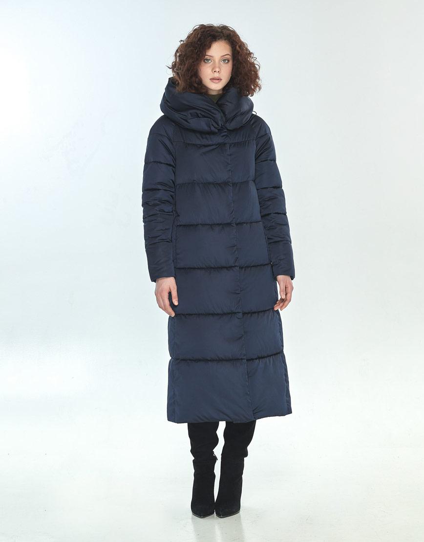 Куртка Moc синяя свободного фасона зимняя женская M6530 фото 1