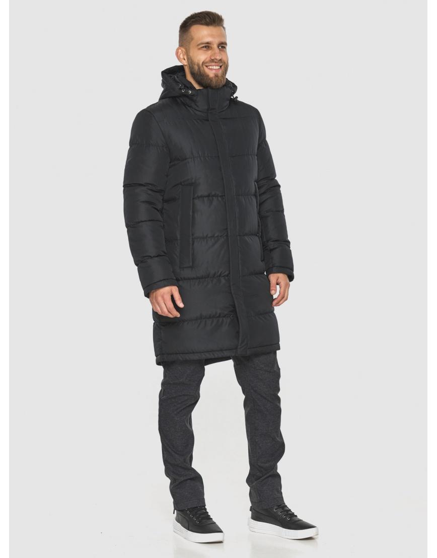 Чёрная куртка с манжетами мужская Tiger Force 2801 фото 4