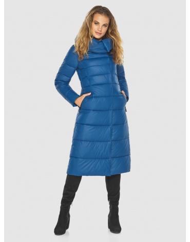 Куртка Kiro Tokao стильная для девушек-подростков зимняя синяя 60015 фото 1