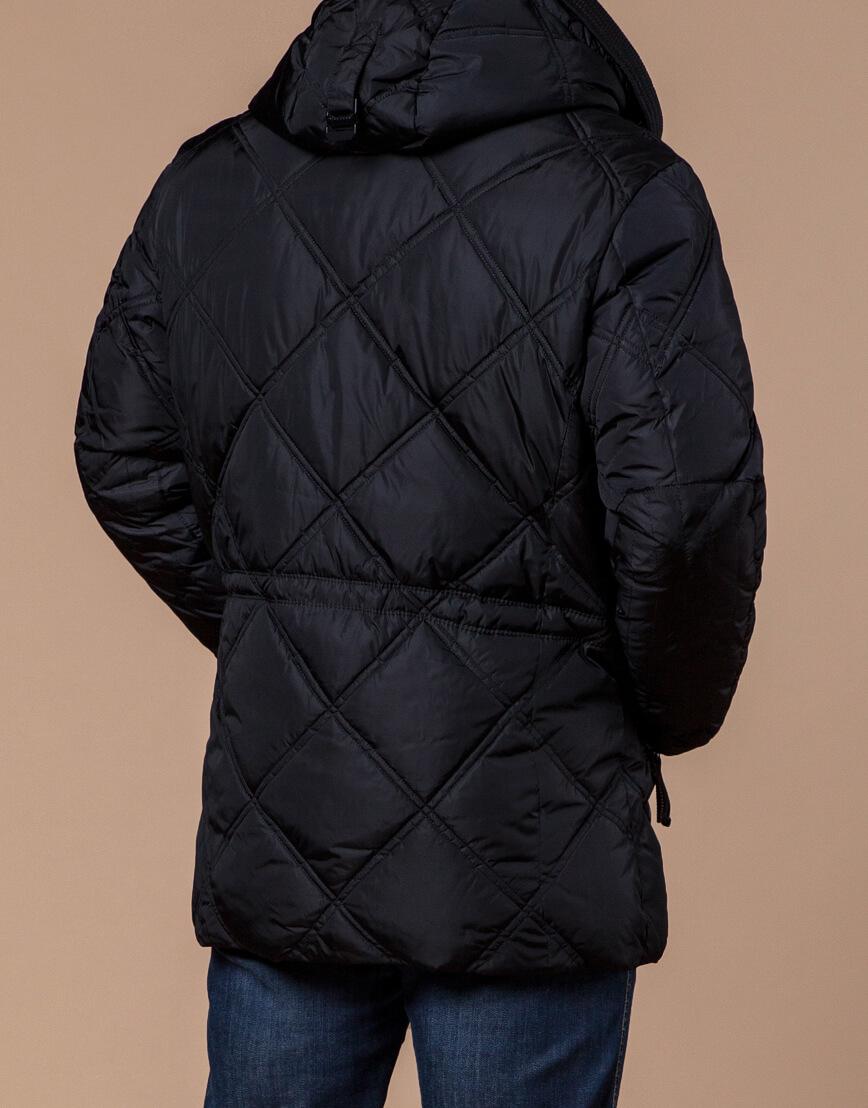 Мужская куртка черного цвета модель 12481 фото 3