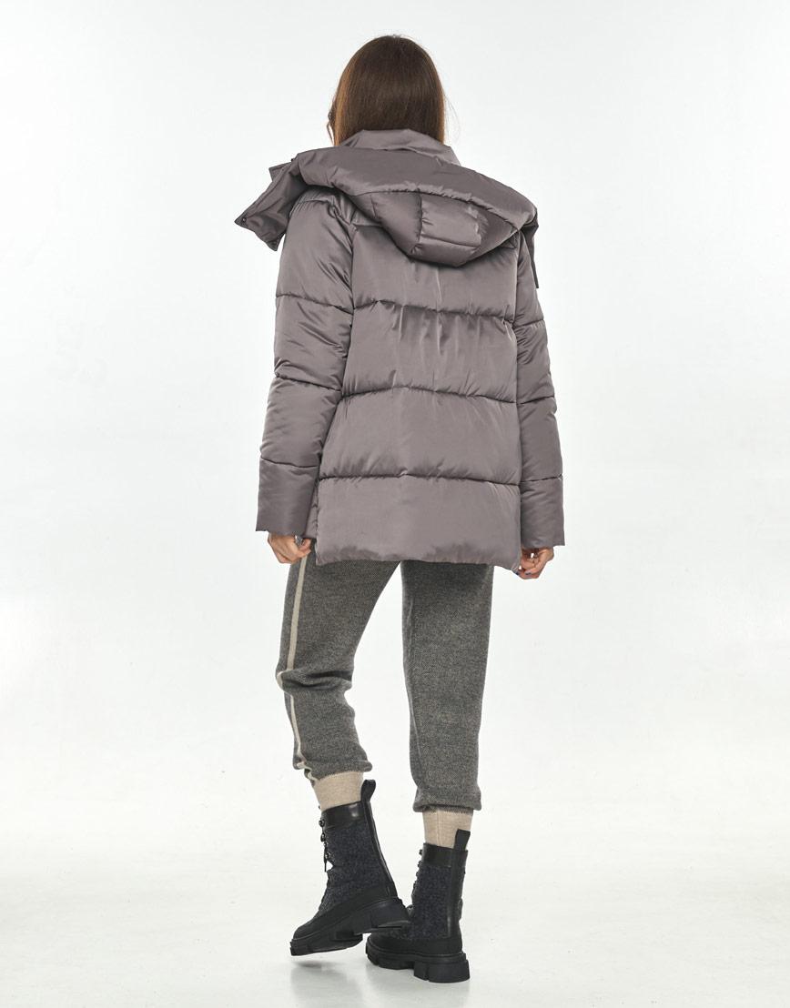 Практичная женская куртка Ajento цвет пудра 22430 фото 3