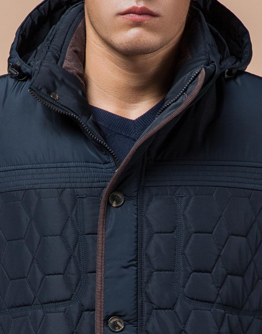 Удобная светло-синяя куртка модель 3570 фото 4