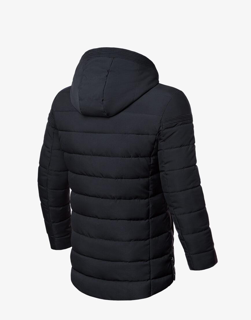 Мужская графитовая куртка зимняя модель 8806 фото 2
