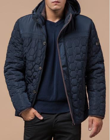 Удобная светло-синяя куртка модель 3570 фото 1