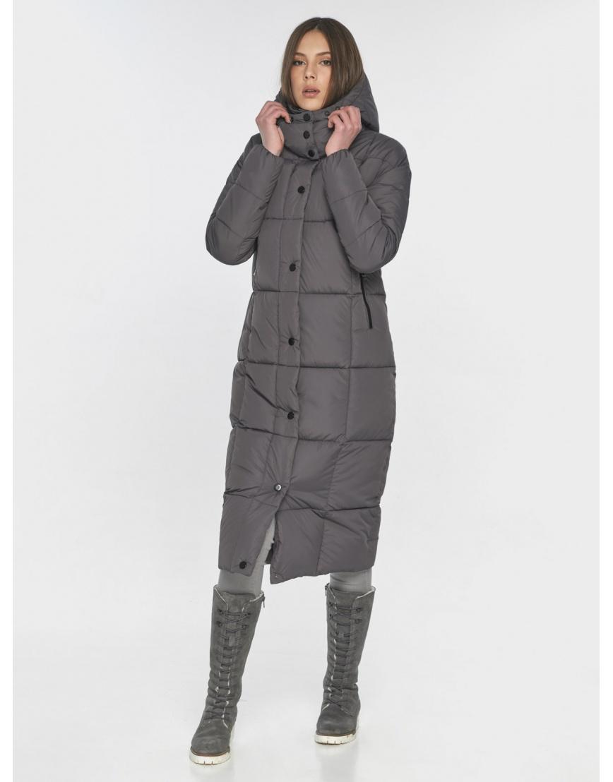 Удобная женская куртка Wild Club серая 541-74 фото 1