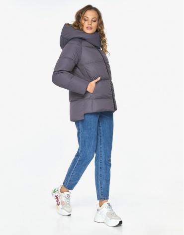 Пуховик куртка Youth графитовая молодежная зимняя модель 23140 фото 1