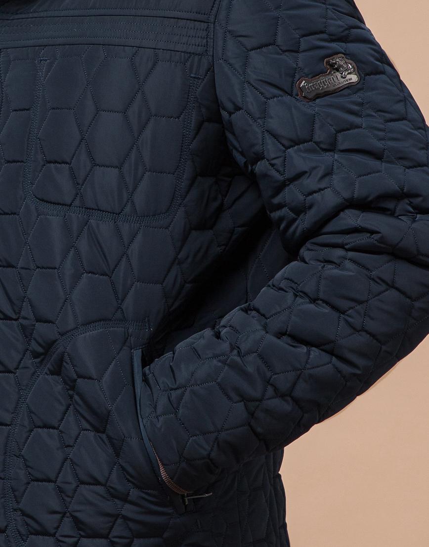 Удобная светло-синяя куртка модель 3570 фото 5