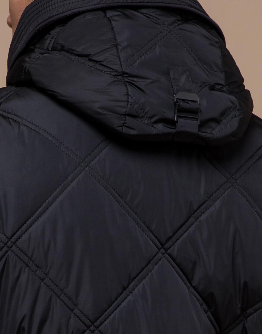 Мужская куртка черного цвета модель 12481 фото 6