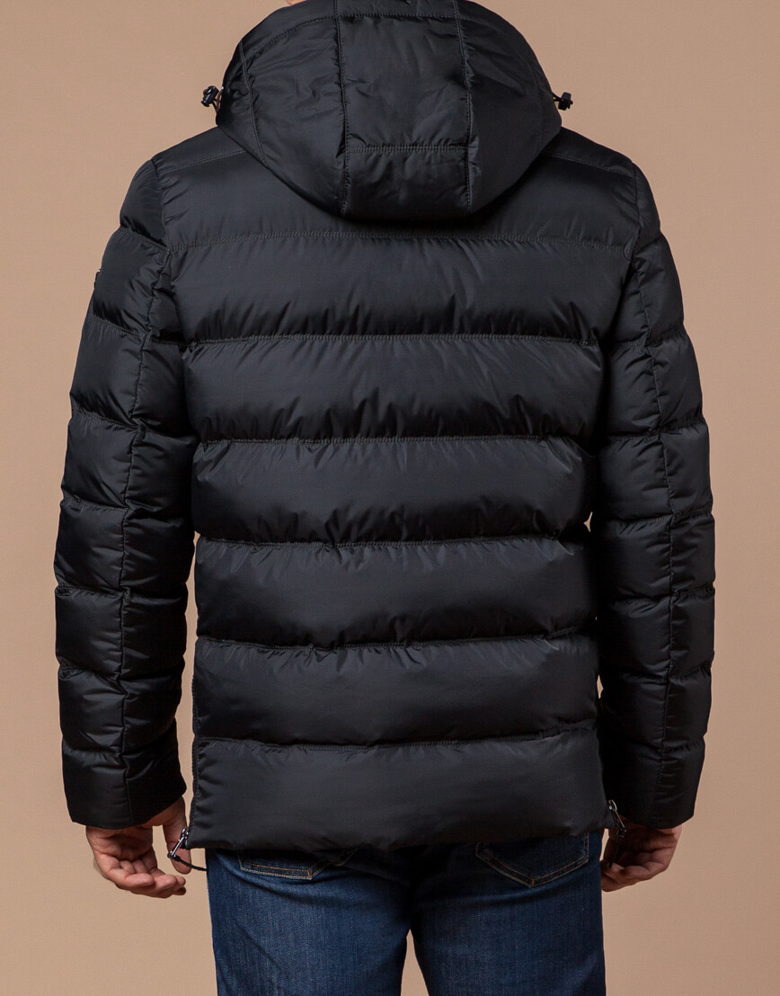 Куртка графитового цвета современная модель 20180 фото 3