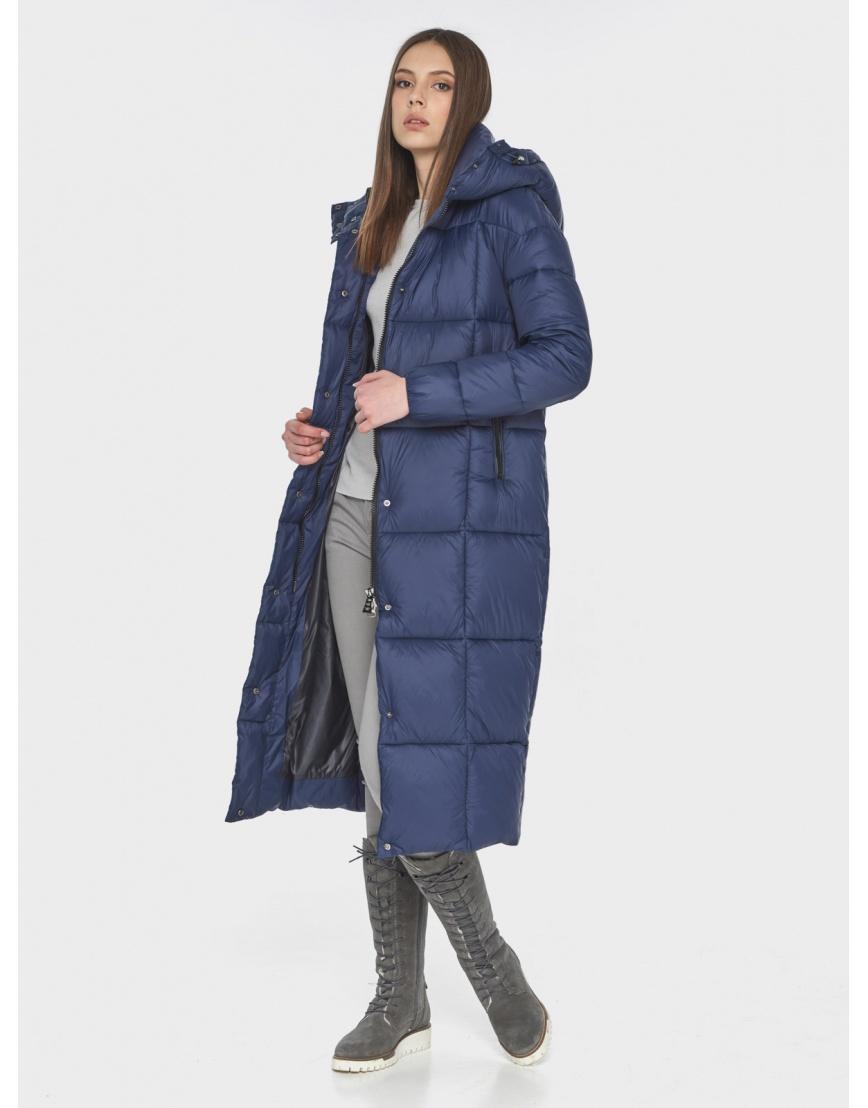 Практичная синяя куртка женская Wild Club 541-74 фото 2