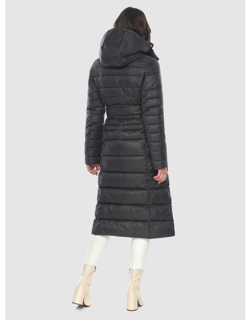 Куртка с капюшоном чёрная женская Vivacana 8140/21 фото 4
