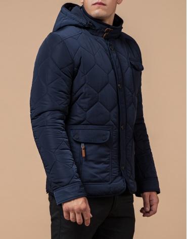 Куртка для мужчин на зиму цвет синий модель 2703 оптом