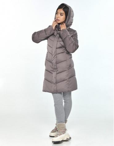 Женская куртка Moc зимняя цвет пудра M6540 фото 1