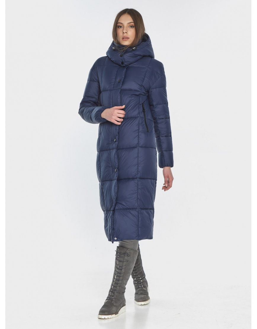 Практичная синяя куртка женская Wild Club 541-74 фото 1