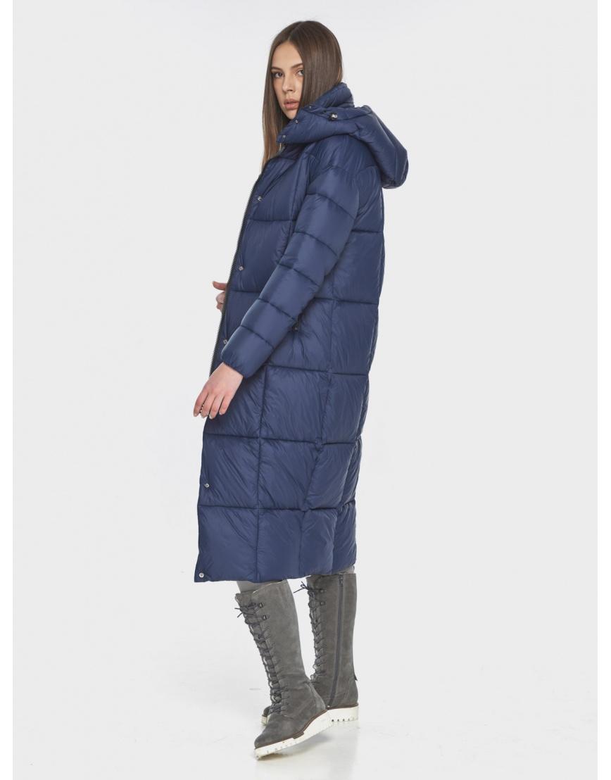 Практичная синяя куртка женская Wild Club 541-74 фото 4