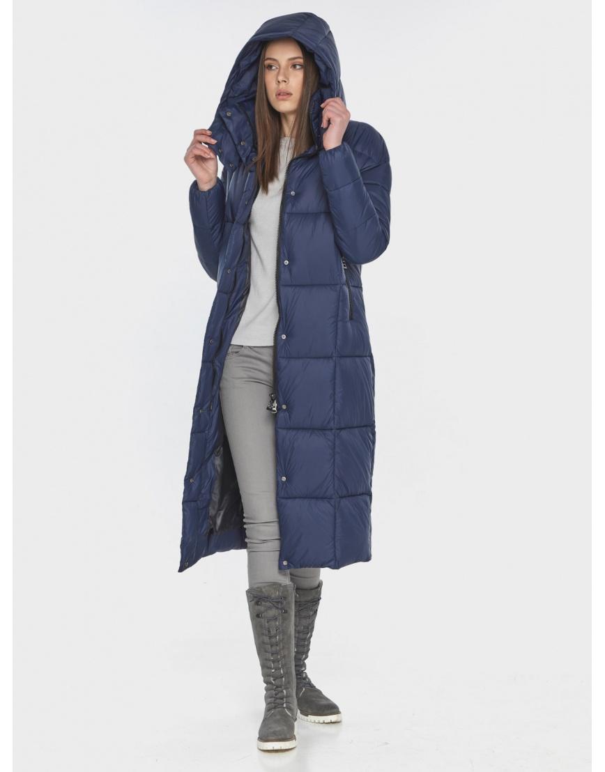 Практичная синяя куртка женская Wild Club 541-74 фото 6