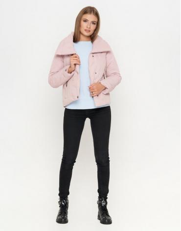 Куртка женская цвета пудры брендовая модель 25062