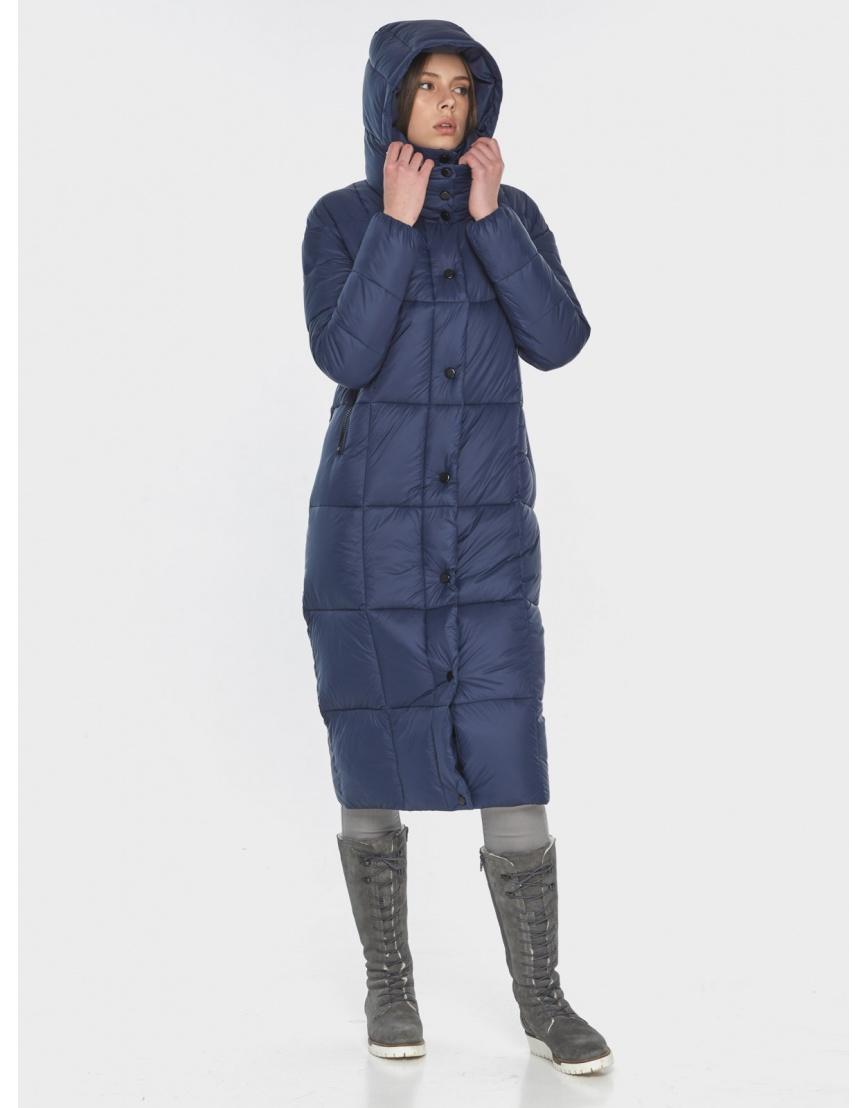 Практичная синяя куртка женская Wild Club 541-74 фото 3