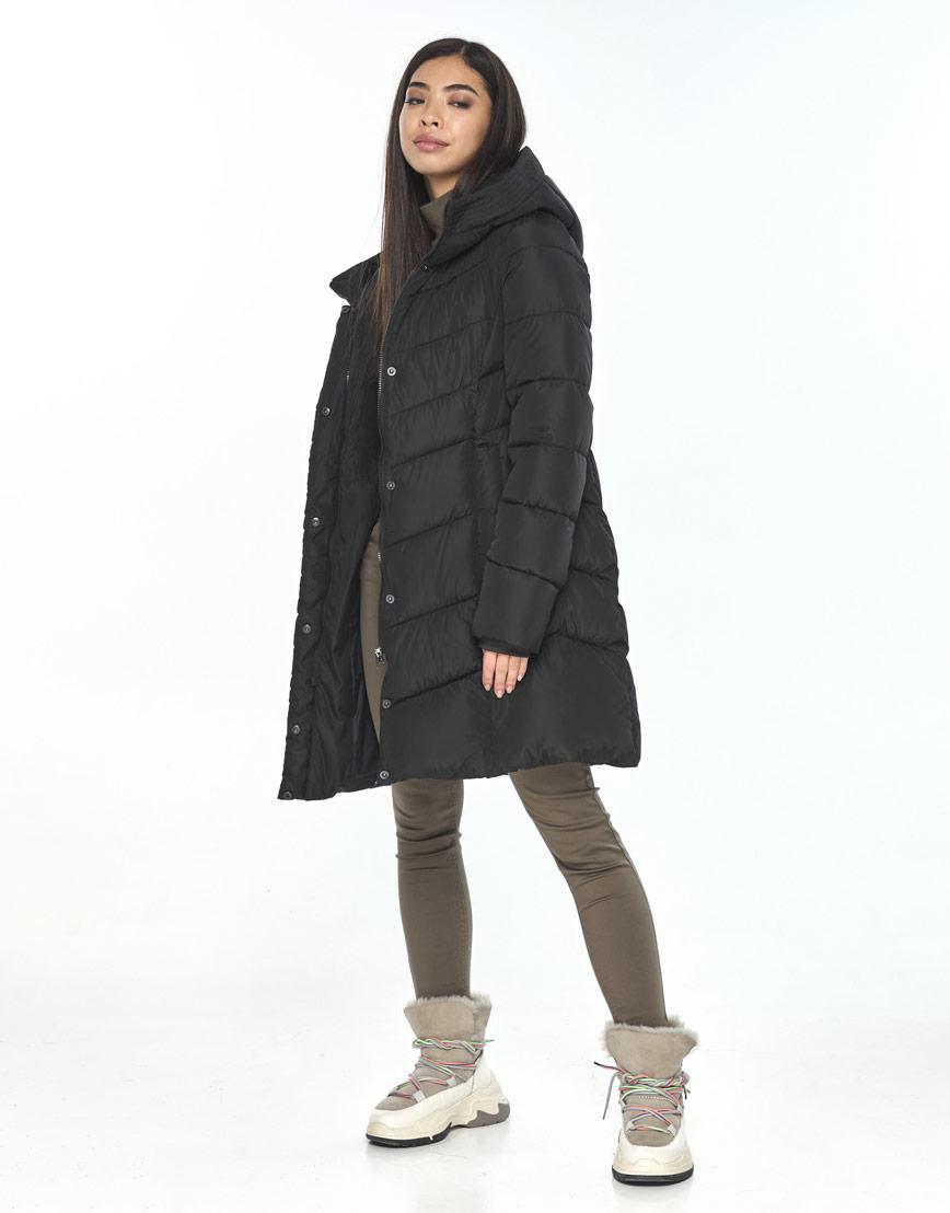 Куртка чёрная женская Moc на зиму M6540 фото 1