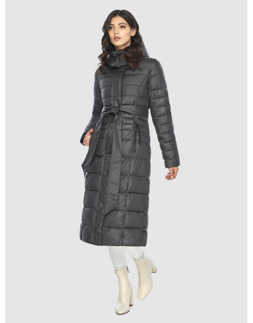 Стильная курточка женская Vivacana серая 8140/21 фото 1