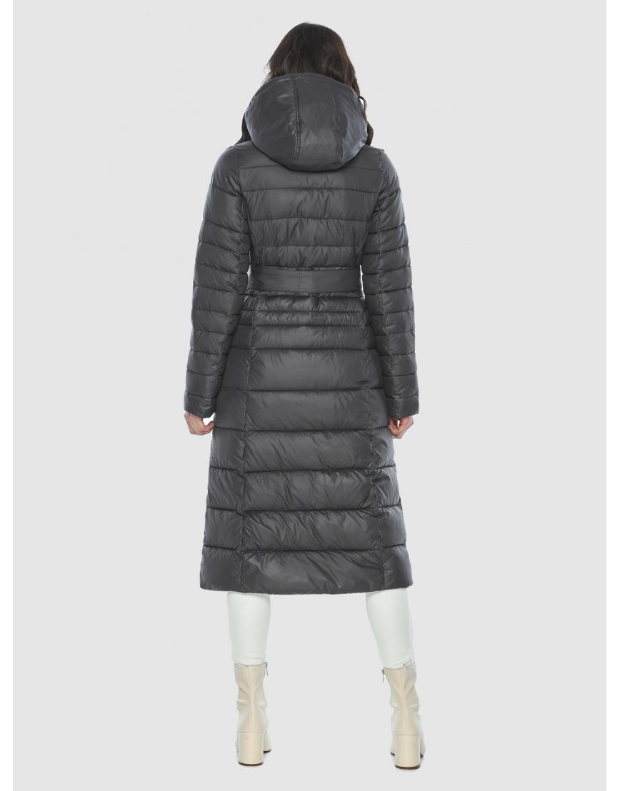 Стильная курточка женская Vivacana серая 8140/21 фото 4