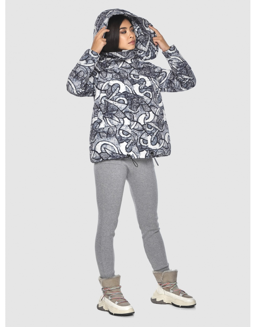 Фирменная куртка с рисунком женская Moc M6981 фото 5