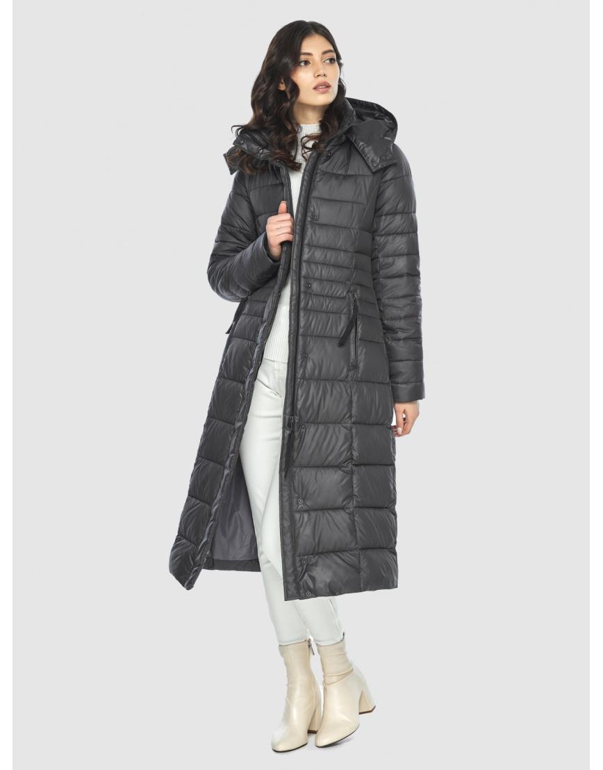 Стильная курточка женская Vivacana серая 8140/21 фото 6