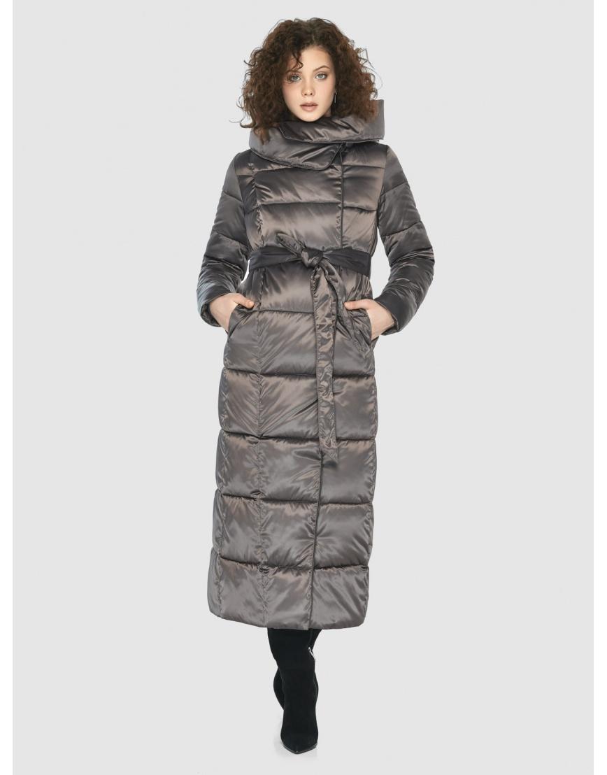 Капучиновая элегантная куртка Moc женская M6321 фото 1