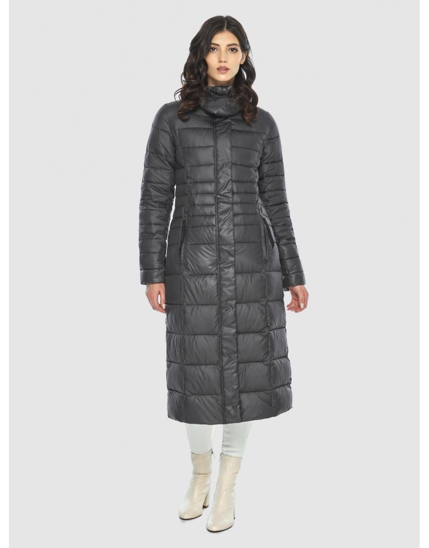 Стильная курточка женская Vivacana серая 8140/21 фото 2