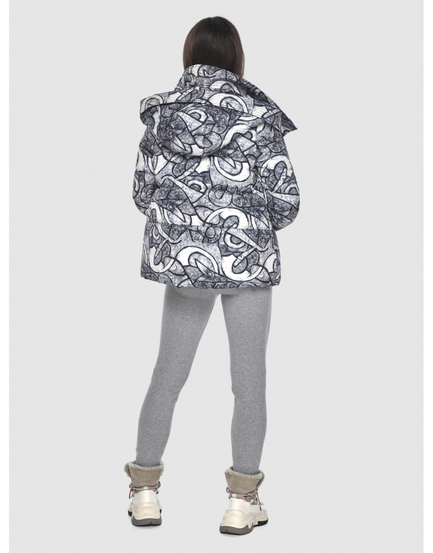 Фирменная куртка с рисунком женская Moc M6981 фото 4