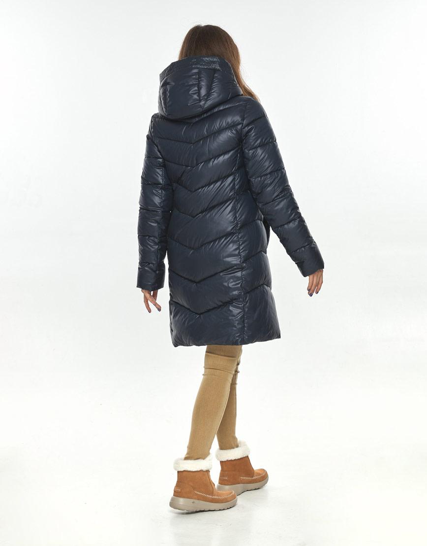 Оригинальная куртка большого размера женская Ajento синяя 22857 фото 3