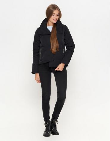 Куртка трендовая цвет черный модель 25062 фото 1