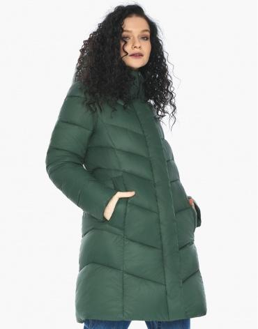 Пуховик куртка Youth женская нефритовая оригинальная молодежная модель 21025 фото 1
