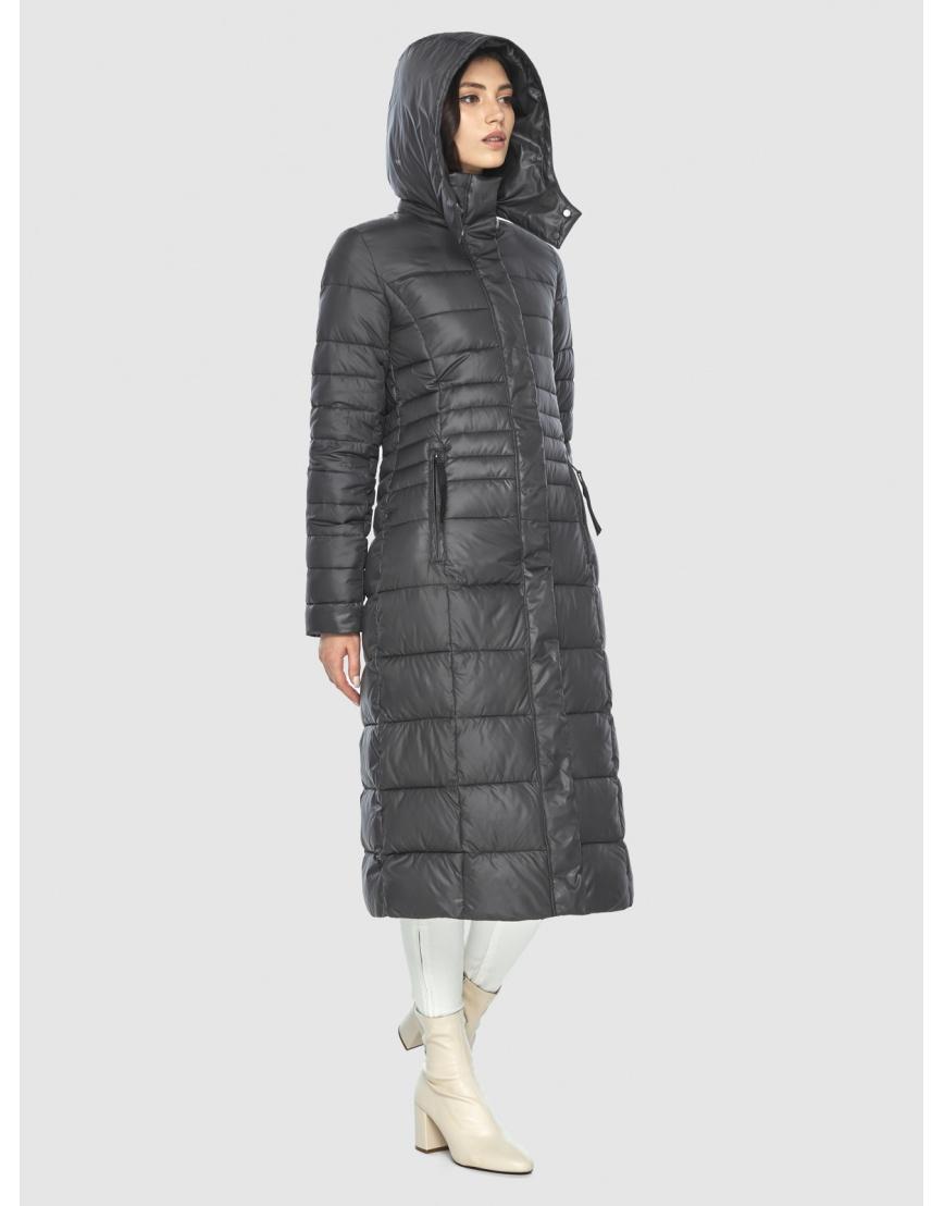 Стильная курточка женская Vivacana серая 8140/21 фото 5