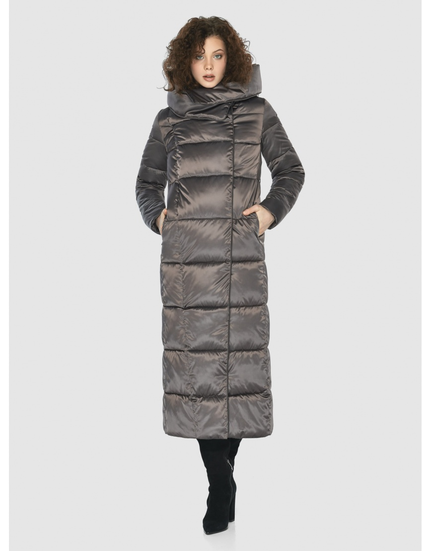 Капучиновая элегантная куртка Moc женская M6321 фото 2