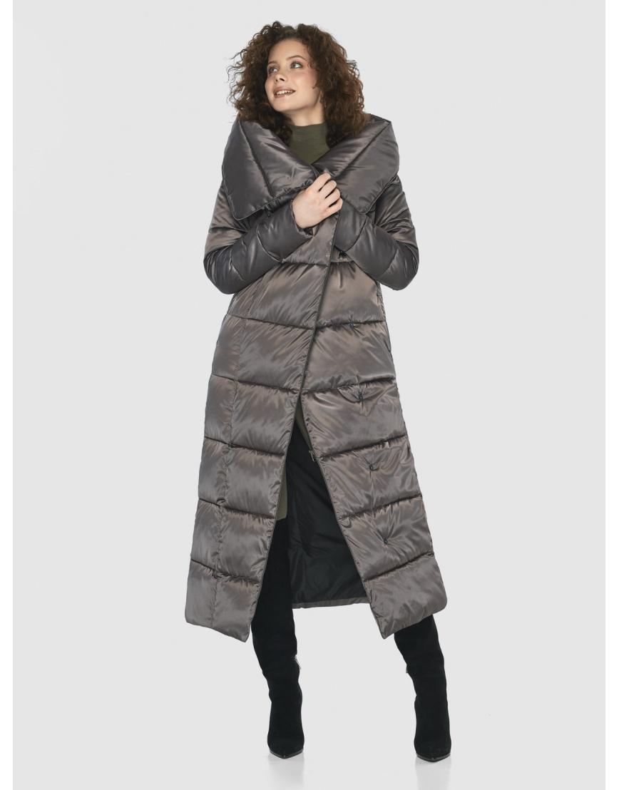 Капучиновая элегантная куртка Moc женская M6321 фото 6