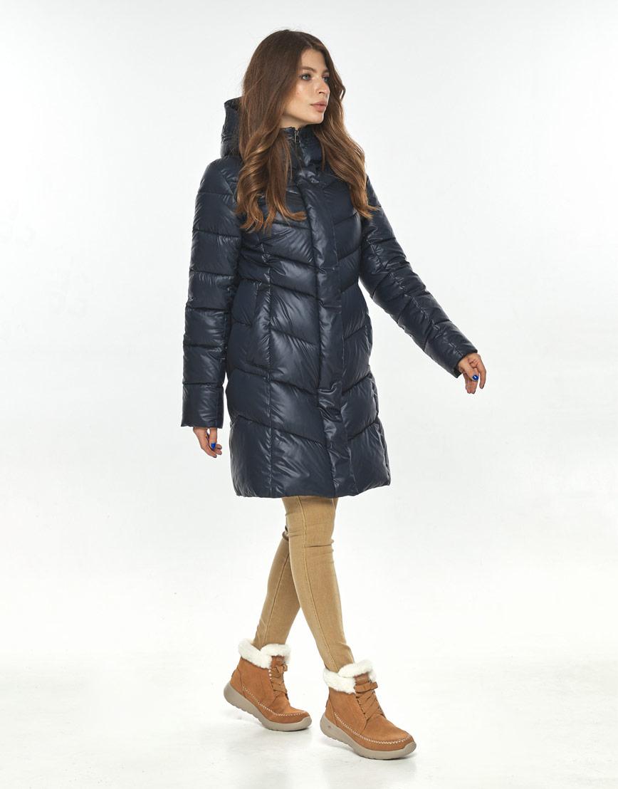 Оригинальная куртка большого размера женская Ajento синяя 22857 фото 2