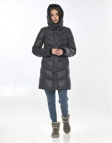 Куртка Vivacana серая оригинальная женская весенняя 7821/21 фото 1