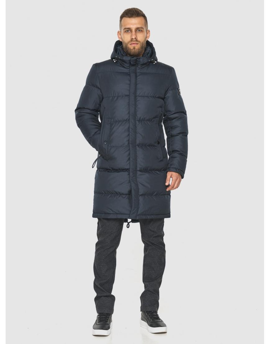 Модная куртка мужская Tiger Force тёмно-синяя 2873 фото 4