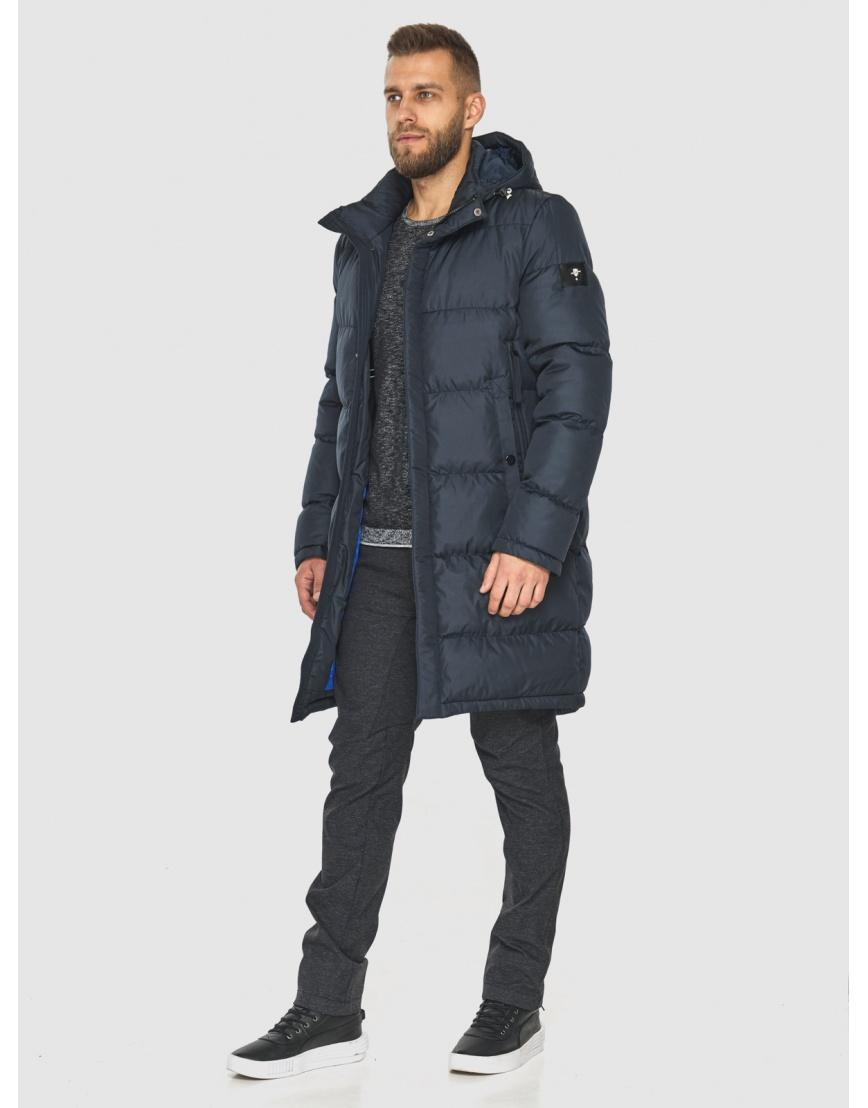Модная куртка мужская Tiger Force тёмно-синяя 2873 фото 2